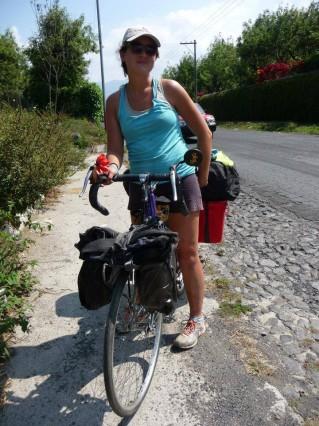 Une Cécile et son vélo